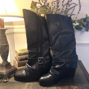 ALDO Hidden Wedge Boots